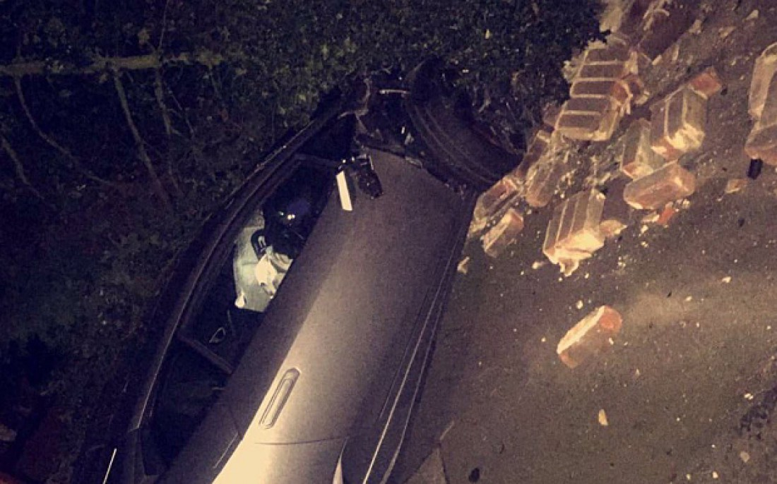Диафра Сако разбил свой дорогущий суперкар