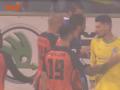 На последних минутах матча Динамо - Шахтер случилась потасовка