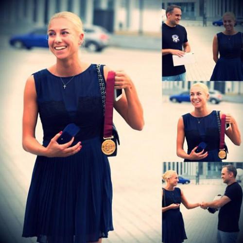 Наталья Годунко вернули ее медаль