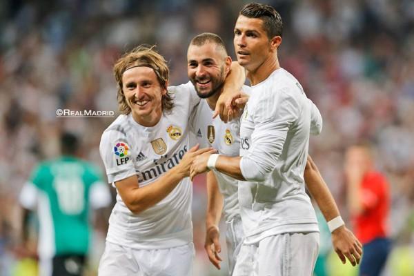 Атакующая линия Реала сыграла великолепно