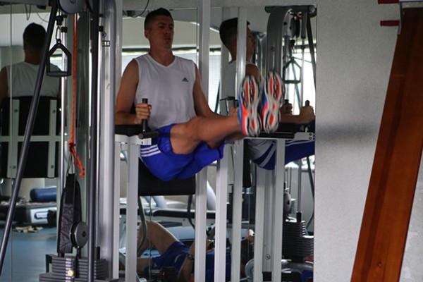 Хачериди тренируется на базе Динамо