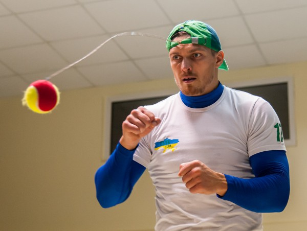 Открытая тренировка Александра Усика