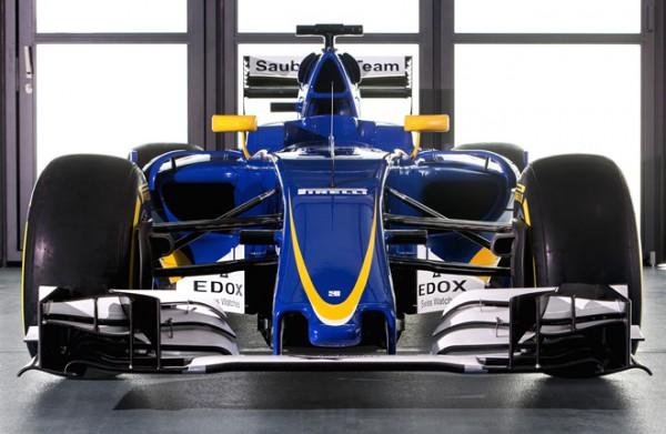 Новый болид Sauber C35