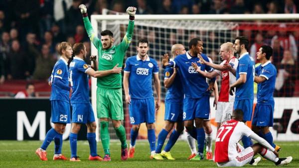 Днепр впервые в истории пробился в четвертьфинал Лиги Европы