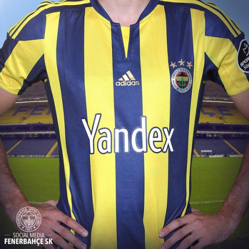Яндекс - титульный спонсор Фенербахче