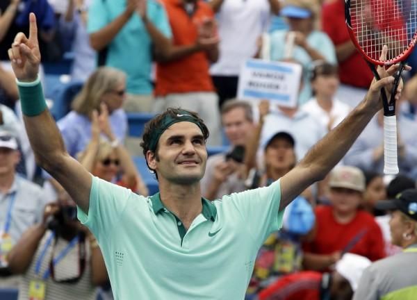 Рождер Федерер выиграл турнир в Цинциннати