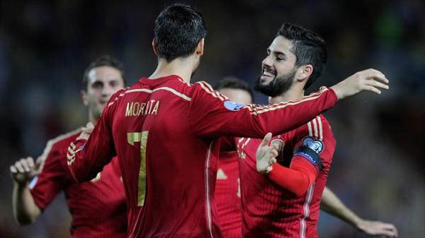 Мората забил единственный гол в последнем матче команд