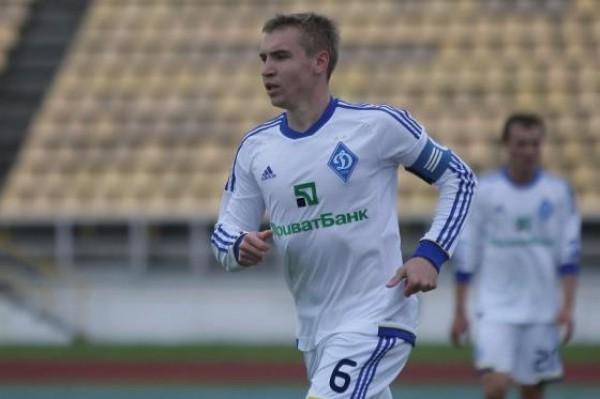 Дмитрий Кушниров во время игры за Динамо-2