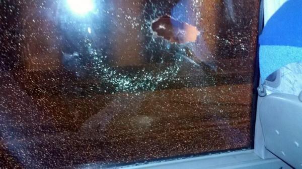 Автобус Партизана подвергся нападению