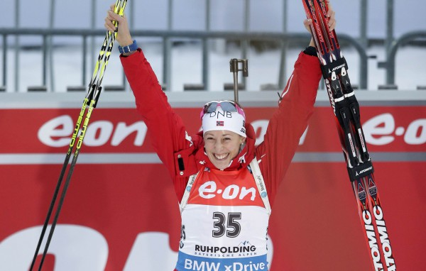 Фанни Хурн сенсационно выиграла спринт в Рупольдинге