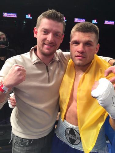 Александр Ханас и Сергей Деревянченко