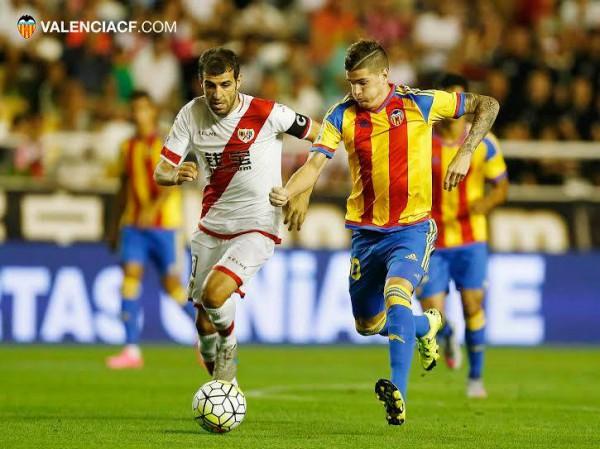 Валенсия оступилась в матче с Райо Вальекано