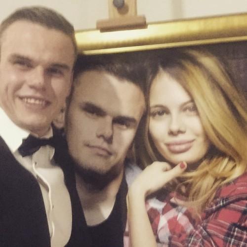 Максим Коваль в день своей свадьбы