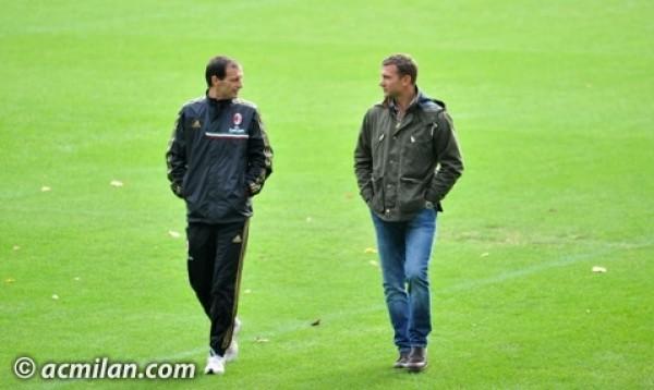 Шевченко посетил тренировочную базу Милана - изображение 2