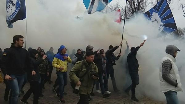 Фанаты Черноморца провели марш в защиту своего клуба - изображение 1