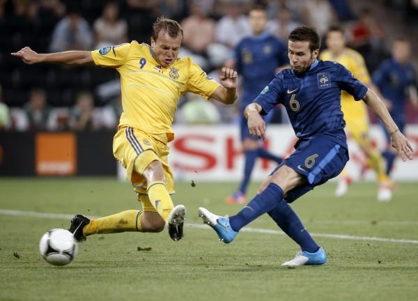 евро 2012 украина франция онлайн голы: