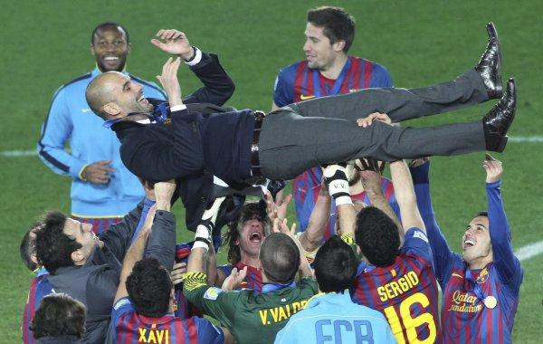 «Барселона» стала лучшей командой 2011 года по версии Международной ассоциации спортивной прессы