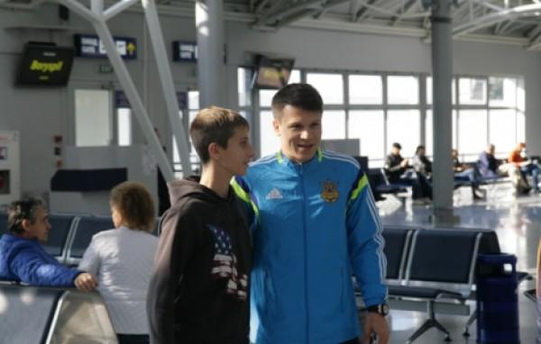 Сборная Украины отправилась в Беларусь на матч отбора Евро-2016