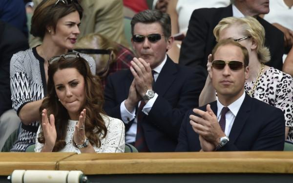 За програшем Маррея на Вімблдоні спостерігали принц Вільям і Кейт Міддлтон