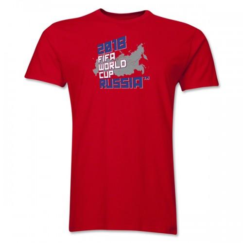 Красная футболка в интернет-магазине ФИФА