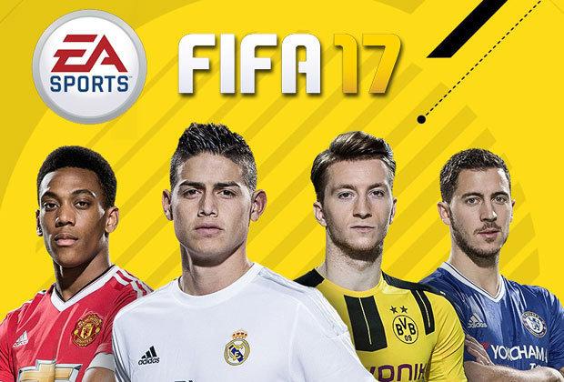 Слайд игры FIFA 17