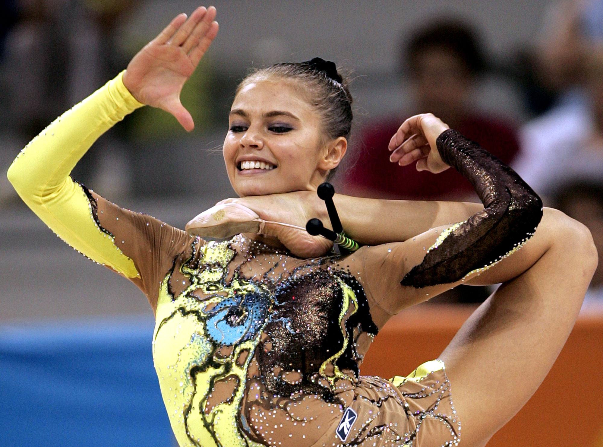 Эротика в художественной гимнастики 29 фотография