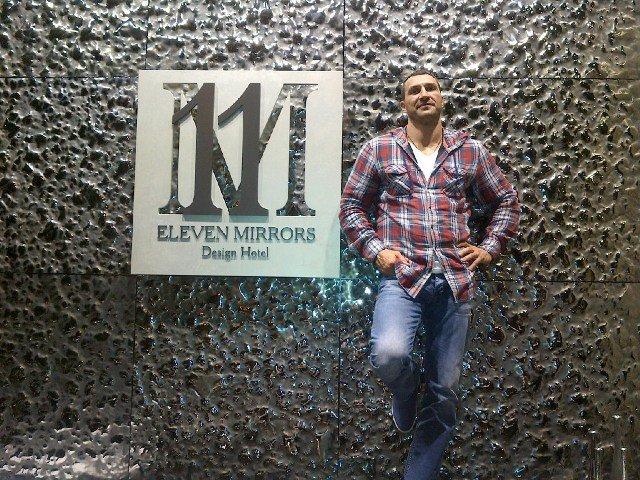 Владимир Кличко на открытии отеля 11 Mirrors