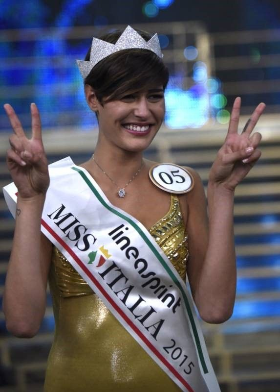Баскетболистка Элис Сабатини - Мисс Италия 2015