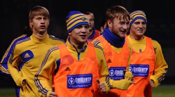 В сборной Украины хорошая атмосфера