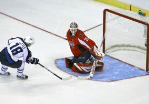 NHL: Winnipeg Jets по буллитам обыграли Washington Capitals