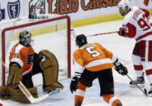 NHL: Detroit Red Wings одержали 20 подряд домашнюю победу и повторили рекорд лиги