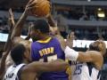 NBA: Лейкерс в гостях побеждают действующего чемпиона