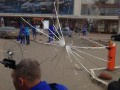 Автобус с игроками Динамо забросали камнями (ФОТО)