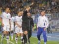 Судья матча Динамо – Днепр удалил Блохина с поля