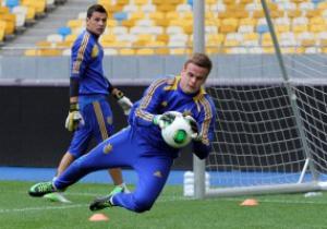 Фотогалерея: Тренировка сборной Украины перед матчем с Камеруном