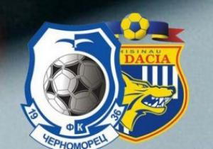 Новости спорта - Новости футбола - Черноморец - Дачия