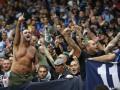 Фанаты Наполи устроили беспорядки перед матчем с Арсеналом