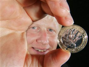 К Олимпиаде-2012 в Лондоне выпущена монета
