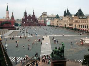 Побывав впервые на Красной площади