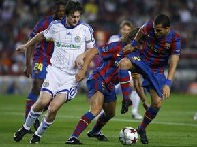 Мілевський набігав 11 кілометрів у матчі з Барселоною