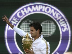 Федерер уп'яте визнаний тенісистом року