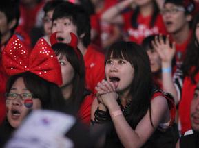 Фотогалерея: Азіатські радощі. Південна Корея проривається в 1/8 фіналу