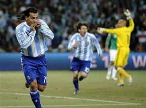 Аргентина празднует подарок