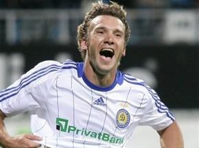 Андрія Шевченка назвали кращим футболістом липня в СНД