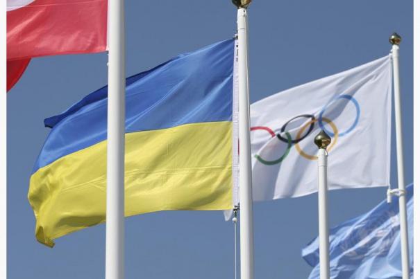 К Играм готовы. В Лондоне торжественно поднят флаг Украины