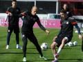 Бавария провела открытую тренировку перед матчем с Шахтером