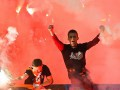Горячая поддержка: Как в Киеве фанаты Динамо и Шахтер поддерживали