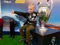 В Киев на 4 дня привезли трофеи Лиги чемпионов и Лиги Европы