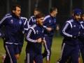 Разминка в сумерках: Как Динамо перед матчем с Челси тренировалось