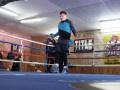 Денис Беринчик встретился со своим соперником на открытой тренировке